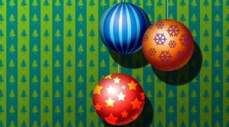 Photoshop Tutorial: Christmas Ornament Balls