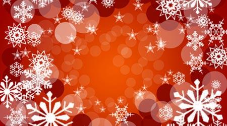 Photoshop Tutorial: Christmas Snowflakes