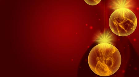 Photoshop Tutorial: Christmas Ornaments Lights Balls