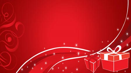 Photoshop Tutorial: Abstract Christmas Wallpaper