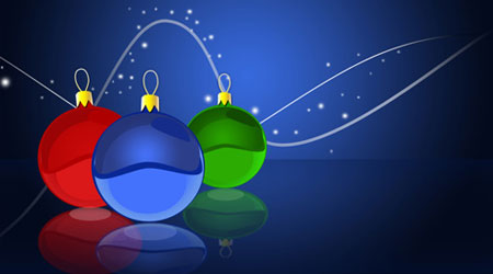 Photoshop Tutorial: Christmas Balls