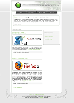 Screenshot Custom Kola Webdesign 1