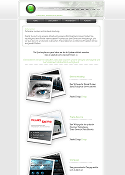Screenshot Custom Kola Webdesign 3
