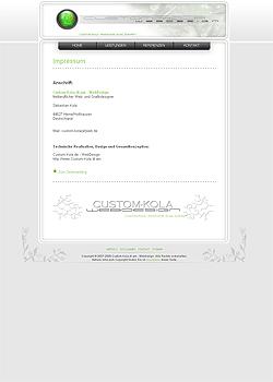 Screenshot Custom Kola Webdesign 5