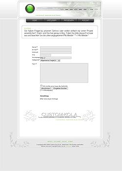 Screenshot Custom Kola Webdesign 6