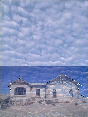 Image Manipulation #1 - Clouds Step 3
